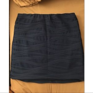 Blue Wet Seal skirt